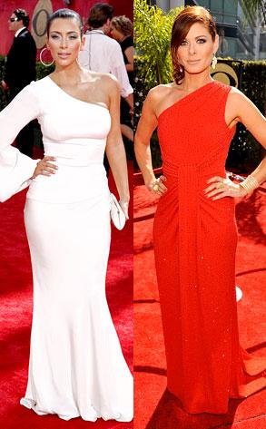 Kim Kardashian, Debra Messing
