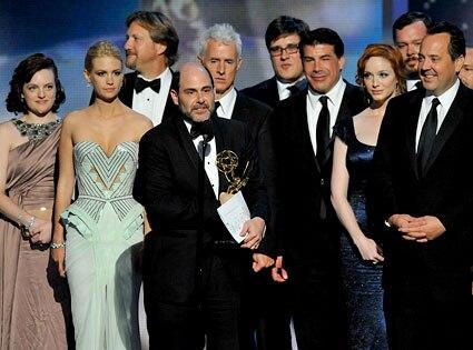 Matthew Weiner, Mad Men Cast