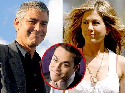 George Clooney, Jennifer Aniston, Steven Ward