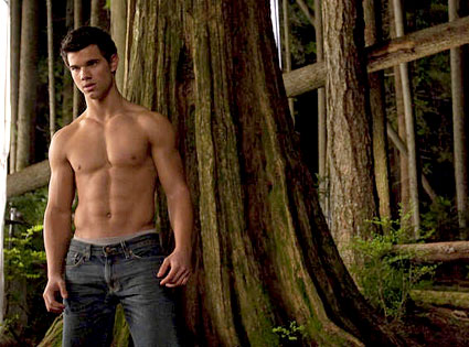 Taylor Lautner, Behind the Scenes, New Moon