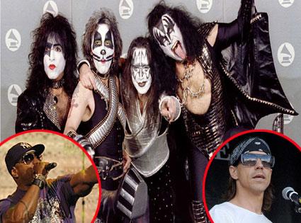 Kiss, LL Cool J, Anthony Keidis