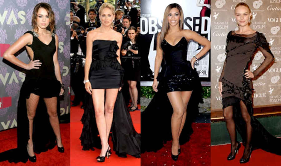 Miley Cyrus, Sharon Stone, Beyonce Knowles, Kate Bosworth