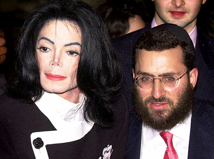 Michael Jackson, Rabbi Shmuley Boteach