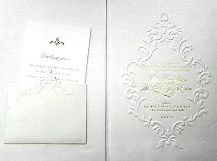 Khloe Kardashian, Lamar Odom, Wedding Invitation