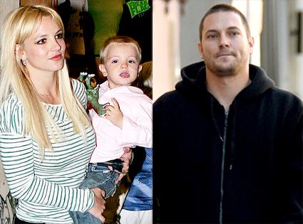 Britney Spears, Jayden James Federline, Kevin Federline