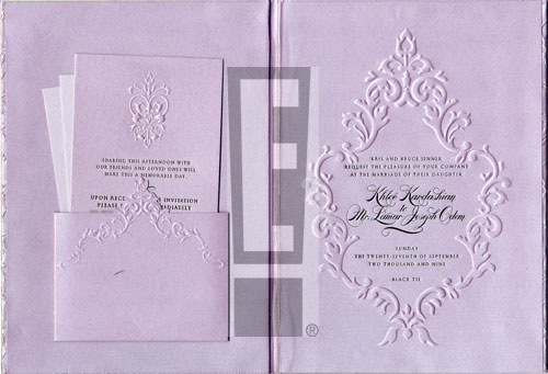 khlo233 amp lamars wedding invite�for real e news