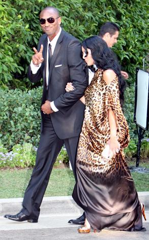 Kobe Amp Vanessa Bryant From Khlo 233 Amp Lamar S Wedding Day