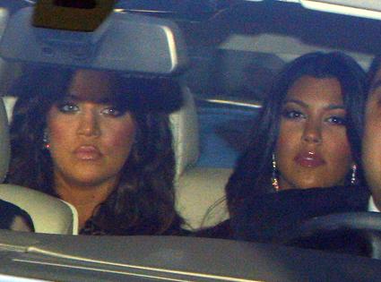 Khloe And Kourtney Kardashian From Khloe Amp Lamars Wedding Day