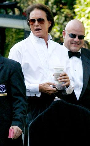 Bruce Jenner From Khloe Amp Lamars Wedding Day