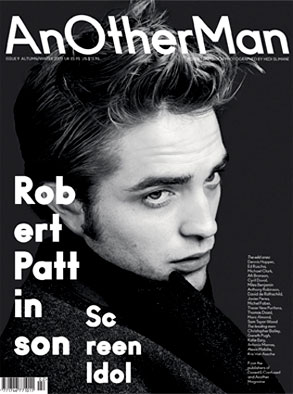 Robert Pattinson, AnOther Man, Cover