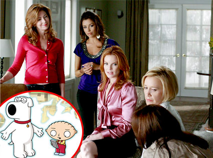Desperate Housewives, Family Guy