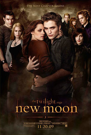 New Moon Poster, Cullens