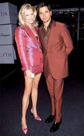 Rebecca Romijn, John Stamos
