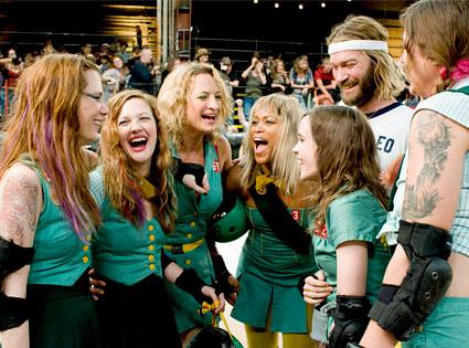 Whip It, Kristen Wiig, Drew Barrymore, Zoe Bell, Eve, Ellen Page, Andrew Wilson, Krissy Krash