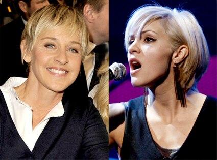 Ellen DeGeneres, Katharine McPhee