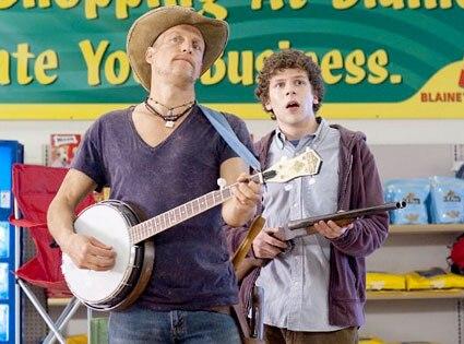 Zombieland, Woody Harrelson, Jesse Eisenberg