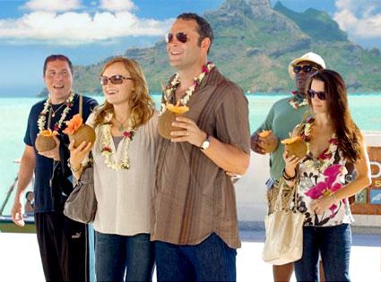 Couples Retreat, Vince Vaughn, Kristin Davis, Malin Akerman, Jon Favreau, Faizon Love