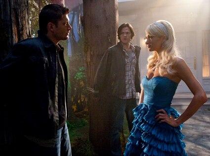 Jensen Ackles, Jared Padalecki, Paris Hilton, Supernatural