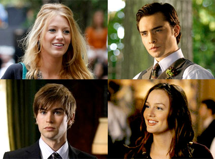 Chace Crawford, Blake Lively, Ed Westwick, Leighton Meester, Gossip Girl