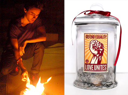 Jared Leto, Equal Rights Jar, Fundraiser