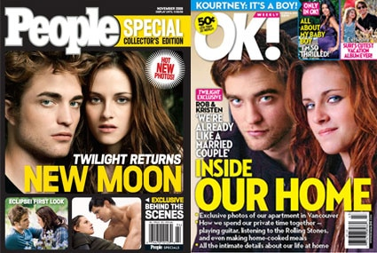 Robert Pattinson, Kristen Stewart, Ok Magazine, People Magazine