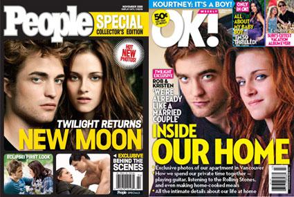 Robert Pattinson, Kristen Stewart, Ok Magazine, People Magazine