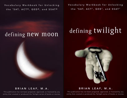 New Moon, Twilight, SAT prep