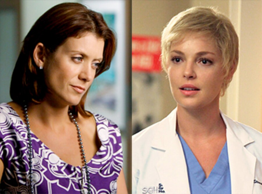 Kate Walsh, Private Practice, Katherine Heigl, Grey's Anatomy