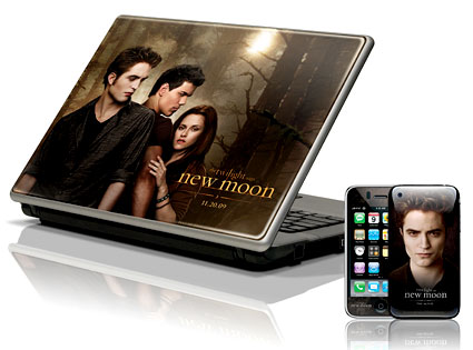 Twilight, Robert Pattinson, New Moon, Phone, Laptop, Decal