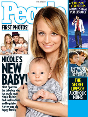 Nicole Richie, Sparrow, People Magazine