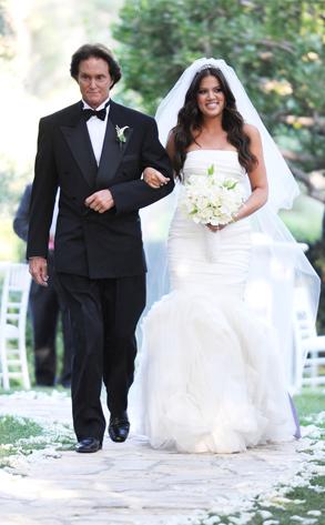 Khloe Kardashian From Celeb Wedding Dresses