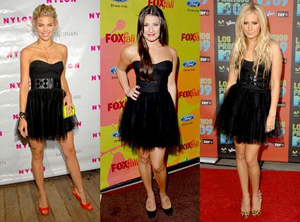 AnnaLynne McCord, Lea Michele, Ashley Tisdale