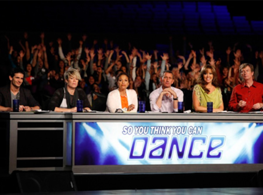 SO YOU THINK YOU CAN DANCE, Tyce Diorio, Mia Michaels, Debbie Allen, Adam Shankman, Mary Murphy, Nigel Lythgoe