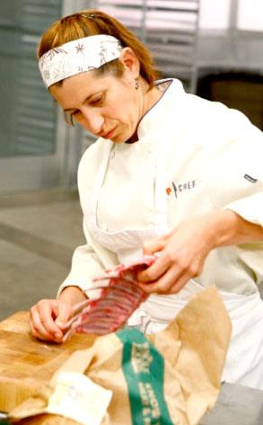 Laurine Wickett, Top Chef