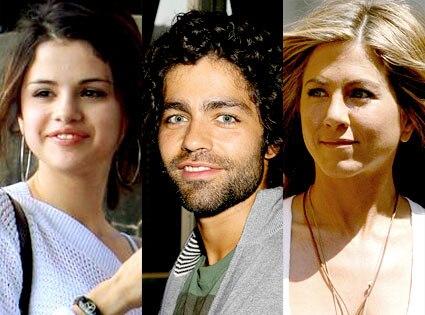 Selena Gomez, Adrian Grenier, Jennifer Aniston