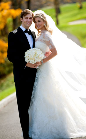 Ivanka Trump from Celeb Wedding Dresses | E! News