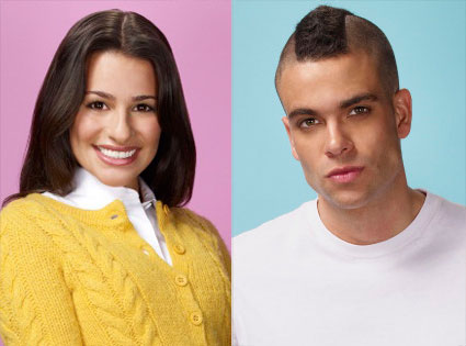 Glee, Lea Michele, Mark Salling