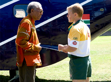 Morgan Freeman, Matt Damon, Invictus