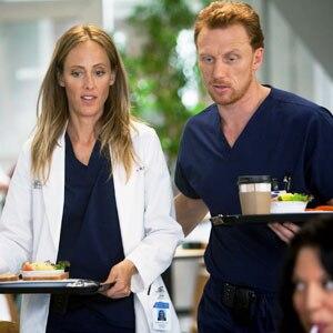 Greys Anatomy, Kim Raver, Kevin McKidd