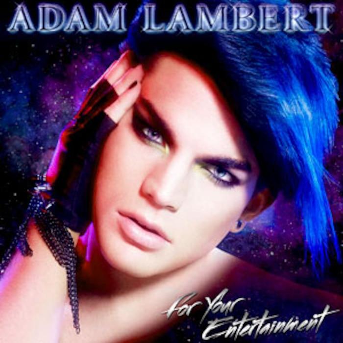Adam Lambert, For Your Entertainment, Album Cover