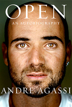 Andre Agassi, Open, Book Cover