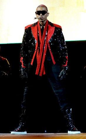 Chris Brown, Michael Jackson