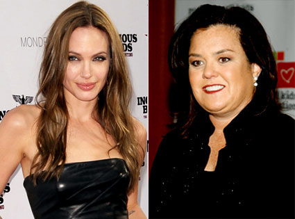 Rosie O'Donnell, Angelina Jolie