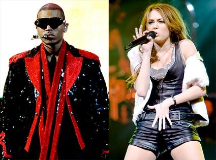 Chris Brown, Miley Cyrus