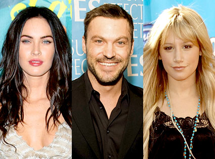 Megan Fox, Brian Austin Green, Ashley Tisdale