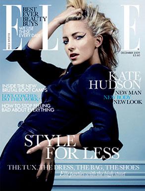 Kate Hudson, Elle, UK Cover