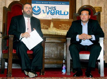 Rabbi Shmuley Boteach , Jon Gosselin