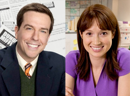 Ed Helms, Ellie Kemper, The Office