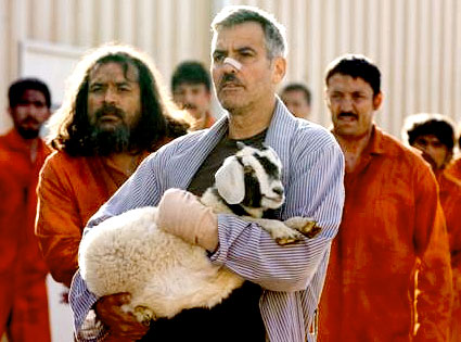 The Men Who Stare at Goats, George Clooney