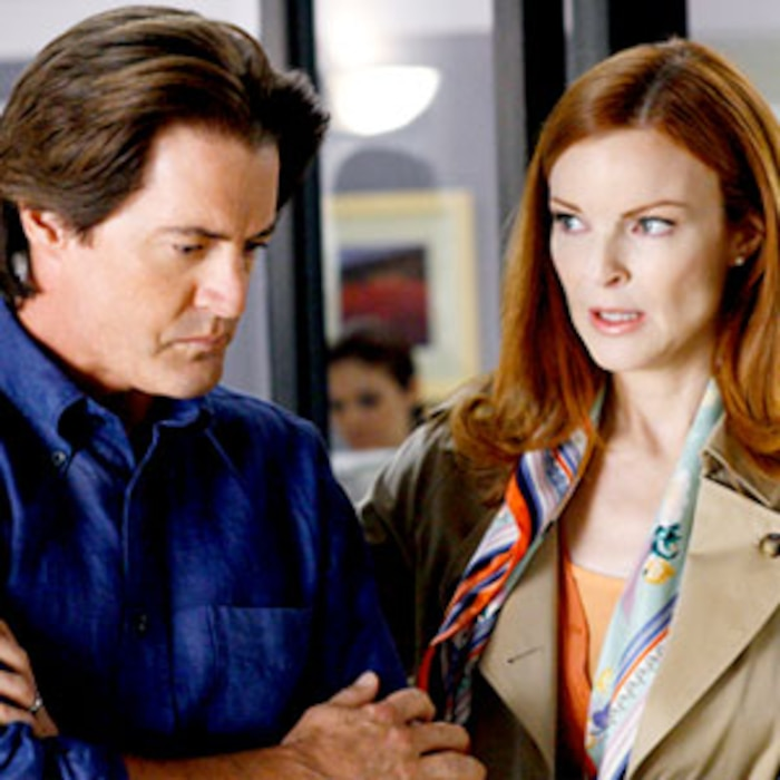 Marcia Cross, Kyle MacLachlan, Desperate Housewives